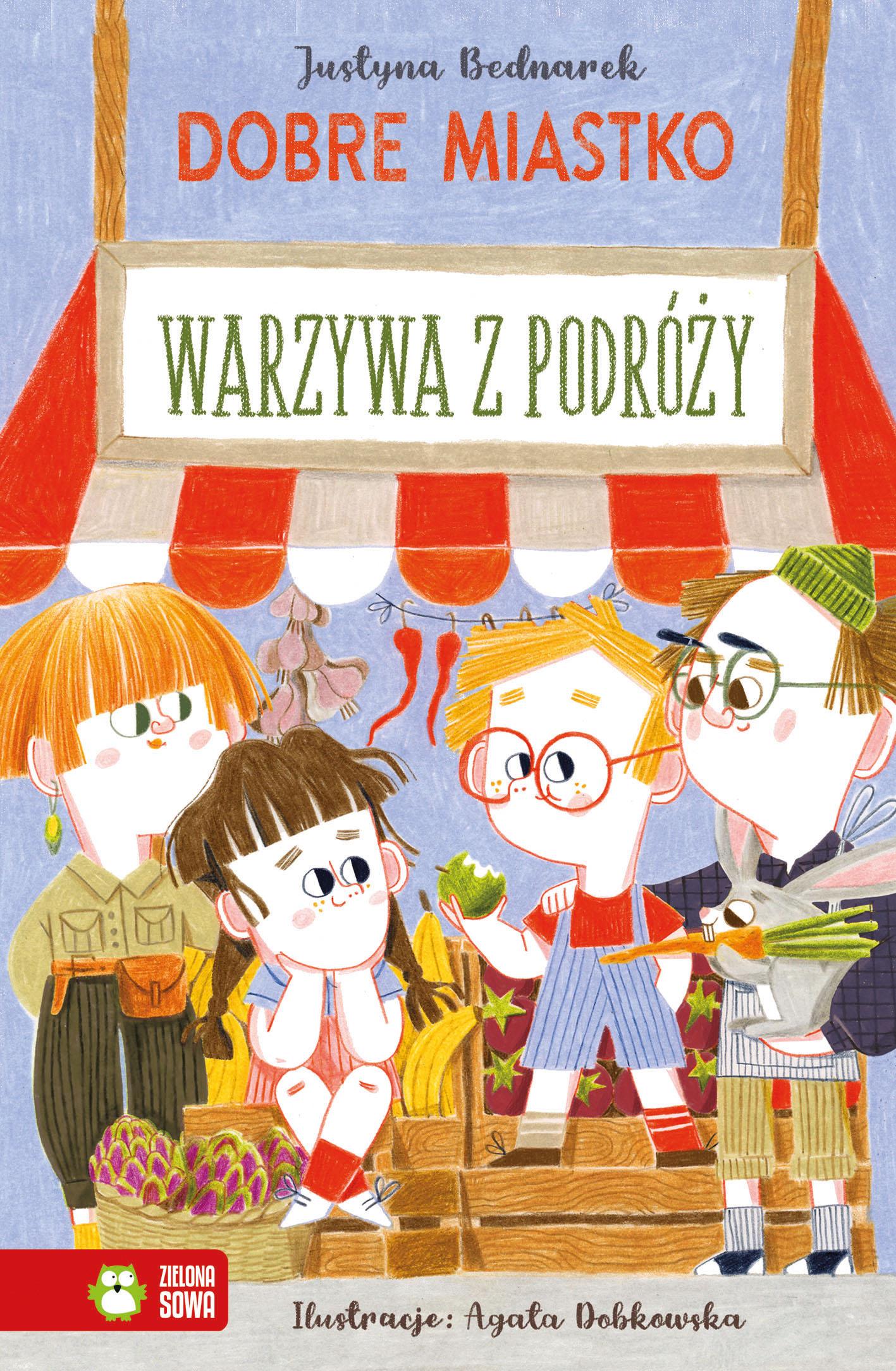 Warzywa z podróży Justyna Bednarek